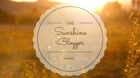 Sunshine Blogger Award No2