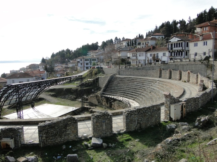 The Ancient Theater in Ohrid
